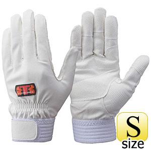 トンボレックス 合成皮革手袋 E−831W ホワイト S