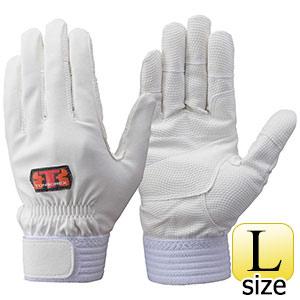 トンボレックス 合成皮革手袋 E−831W ホワイト L