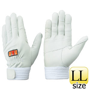 トンボレックス 訓練用羊革手袋 R−MAX6 手の平&指先二重補強タイプ LL