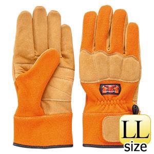 トンボレックス ケブラー(R)繊維製防火手袋 K−G101R LL