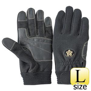 トンボレックス ケブラー(R)繊維製消防団員用耐切創手袋 K−522BKD L