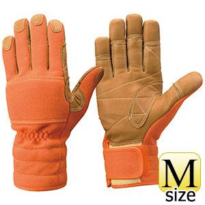 トンボレックス ケブラー(R)繊維製 防火手袋 K−TFG5R オレンジ M