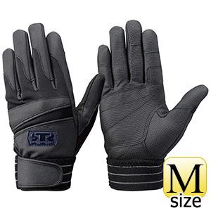 トンボレックス 簡易防寒手袋 合成皮革 EF−844BK M