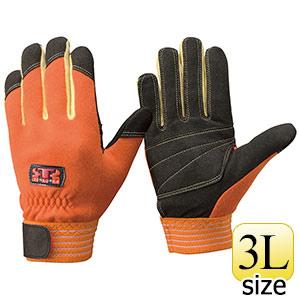 トンボレックス ケブラー(R)繊維製耐切創手袋 防寒・防水 K−701R 3L