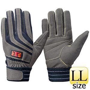 トンボレックス ケブラー(R)繊維製手袋 K−506NV ネービー LL