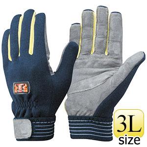トンボレックス ケブラー(R)繊維製耐切創手袋 K−707HTNV 3L