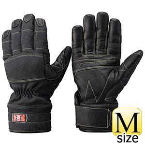 トンボレックス ケブラー(R)防火・防水ハイスペック手袋 K−A173BK M