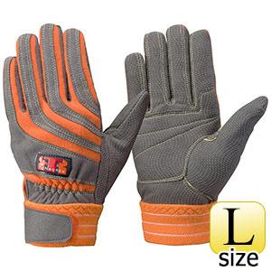 トンボレックス ケブラー(R)繊維製手袋 K−506R オレンジ L