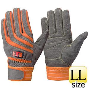 トンボレックス ケブラー(R)繊維製手袋 K−506R オレンジ LL