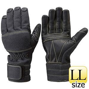 トンボレックス ケブラー(R)繊維製手袋 K−A181BK ブラック LL