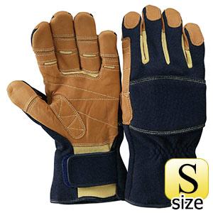 トンボレックス ケブラー(R)繊維製手袋 K−TF2NV ネイビー S