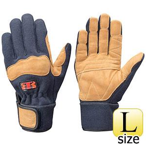 トンボレックス ケブラー(R)繊維製防火手袋 K−G102NV ネービー L