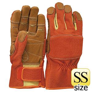 トンボレックス ケブラー(R)繊維製手袋 K−TF2R オレンジ SS