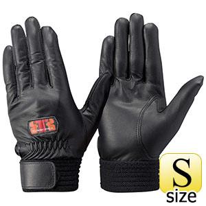 トンボレックス 羊革手袋 RS−940BK 薄手・当てなしタイプ ブラック S