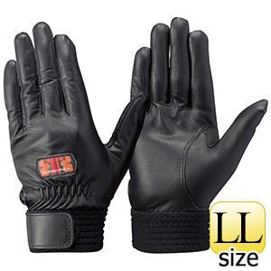 トンボレックス 羊革手袋 RS−940BK 薄手・当てなしタイプ ブラック LL