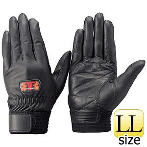 トンボレックス 羊革手袋 RS−941BK 薄手タイプ ブラック LL