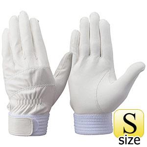 トンボレックス 羊革手袋 RS−310W 薄手タイプ ホワイト S