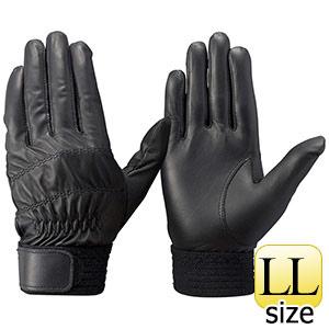 トンボレックス 羊革手袋 RS−310BK 薄手タイプ ブラック LL