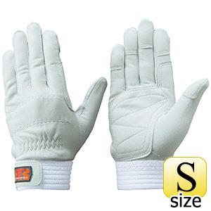 トンボレックス 羊革手袋 R−320W 中厚タイプ シルバーホワイト S