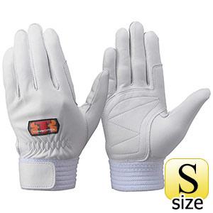 トンボレックス 羊革手袋 R−330W 中厚タイプ シルバーホワイト S