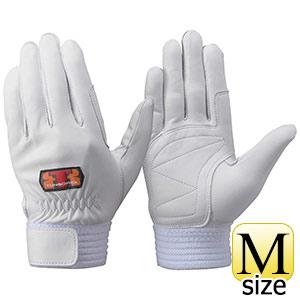 トンボレックス 羊革手袋 R−330W 中厚タイプ シルバーホワイト M