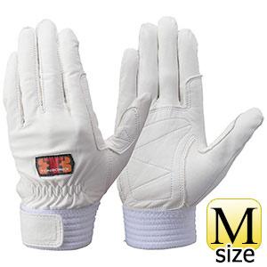 トンボレックス 牛革手袋 CS−931W 薄手タイプ ホワイト M