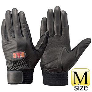 トンボレックス 牛革手袋 CS−931BK 薄手タイプ ブラック M