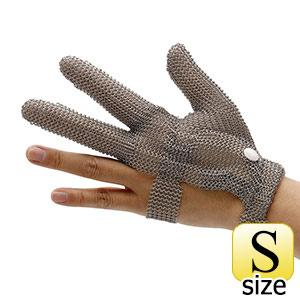 耐切創手袋 WILCO−330 (クサリ手袋3本指) 袖無し  S