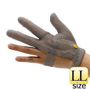 耐切創手袋 WILCO−330 (クサリ手袋3本指) 袖無し  LL
