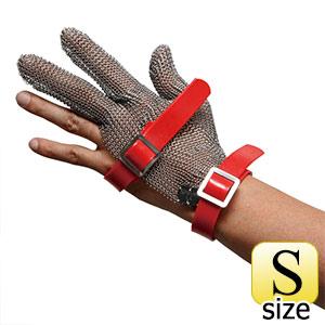 耐切創性手袋 MST−330(M)PU S 鎖手袋 3本指 PUマグネット