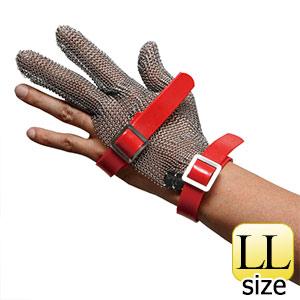 耐切創性手袋 MST−330(M)PU LL 鎖手袋 3本指 PUマグネット