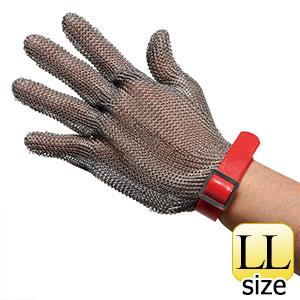 耐切創性手袋 MST−050(M)PU LL 鎖手袋 5本指 PUマグネット