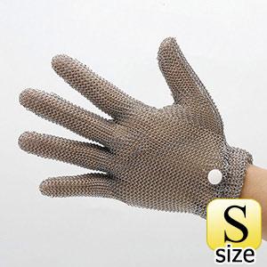 耐切創手袋 WILCO−050 (クサリ手袋5本指) 袖無し  S