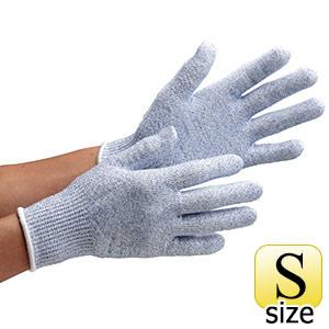 耐切創性手袋 カットガードF102NF ブルー S