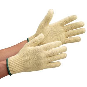 耐切創性手袋 イエローガード072裏綿 10双/袋 (販売単位:10袋)