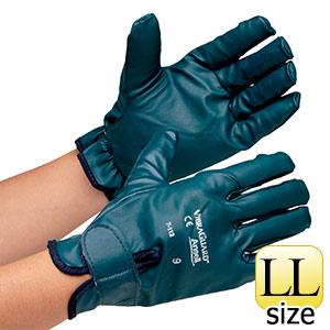 防しん手袋 ビブラガード フルフィンガー 7−112 LL 3双