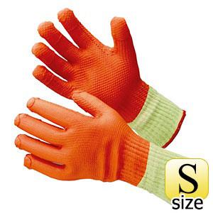 ゴム張り手袋 MHG−315 ハイグリップ ゴム張りハードロング S 5双