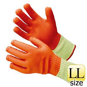 ゴム張り手袋 MHG−315 ハイグリップ ゴム張りハードロング LL 5双