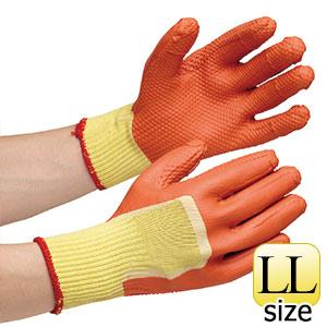 作業手袋 ハイグリップ ゴム張りソフト MHG−300 LL 5双入