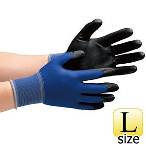 作業手袋 ハイグリップ ニトリル背抜き手袋 MHG−150 L 10双/袋