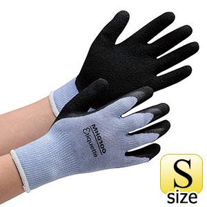 消臭機能糸使用作業手袋 ハイグリップ天然ゴム背抜き MHG100エチケット S