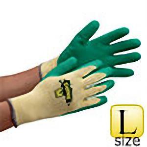 作業手袋 ダンク グリーン #2504 Lサイズ (販売単位:10双)