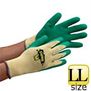 作業手袋 ダンク グリーン #2504 LLサイズ (販売単位:10双)