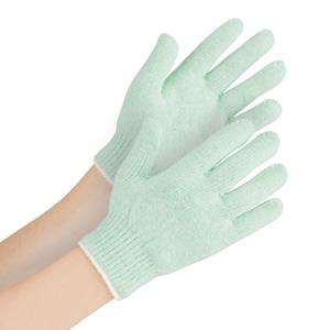 接触感染予防手袋 MS102 子供用 のびのびタイプ グリーン