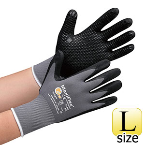 ATG グリップ強化精密手袋MaxiFlexEndurance 34−844 L