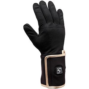防寒手袋 ヒーター付インナーソフト手袋 MLサイズ