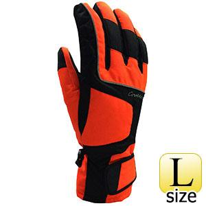 ハイビズカラー ウィンターグローブ Lサイズ 蛍光オレンジ FT3570