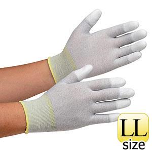 作業手袋 MCG−601N (指先コーティング) LL 10双/袋