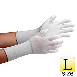 作業手袋 MCG−500Nロング (手のひらコーティング) L 10双/袋