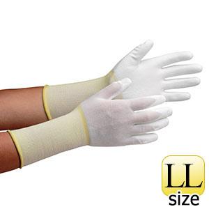 作業手袋 MCG−500Nロング (手のひらコーティング) LL 10双/袋